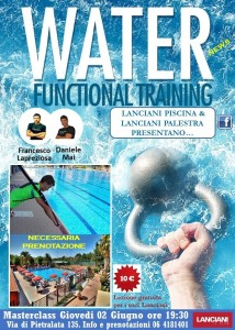 water functiona training