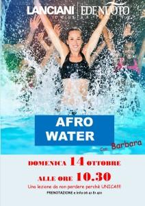 lezione afro water