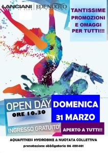 open day 31 marzo